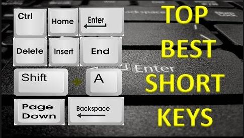 Computer basic Short Cut Keys & Common Tasks