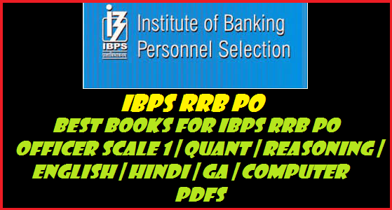 IBPS RRB PO Officer Study Material