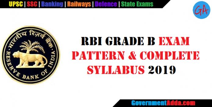 RBI Grade B Officer Exam Pattern and Syllabus