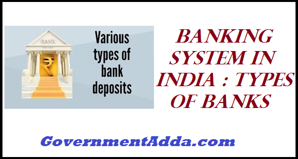 Banking system in India Types of Banks