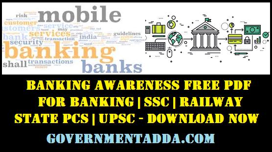 Banking Awareness Free PDF