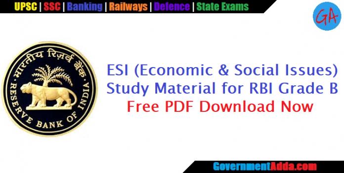 ESI Books for RBI Officer