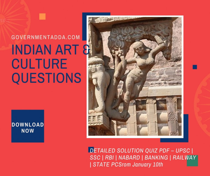 Indian Art and Culture Questions
